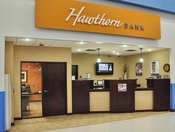 Hawthorn Bank Clinton Banking Center - Wal-Mart