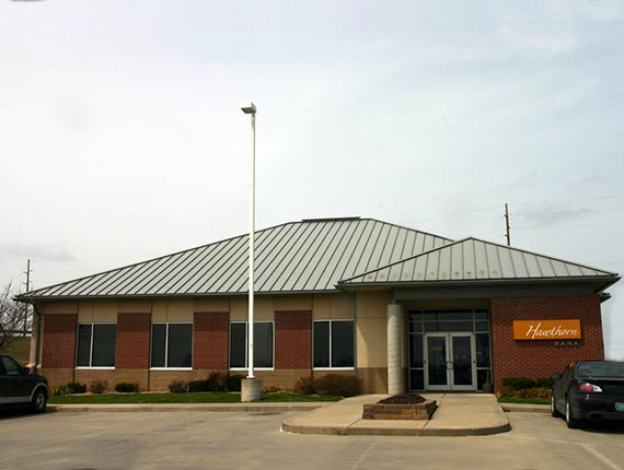 Hawthorn Bank Harrisonville Banking Center